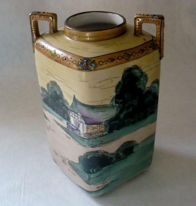 Nippon Rectangular Vase