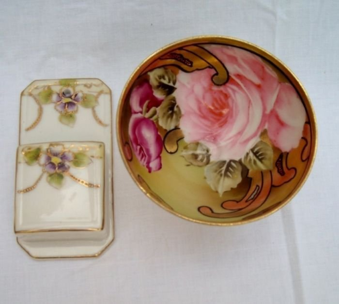 Nippon Match holder and Punch Cup