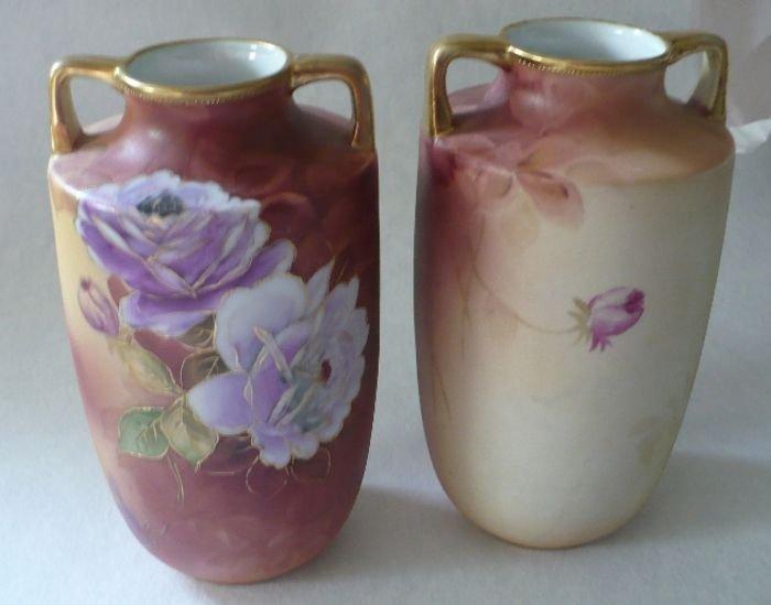 Pair of Nippon Vases