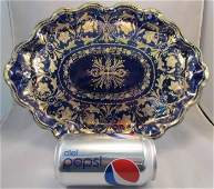 """Huge (12"""" Across) Antique Nippon Serving Tray"""