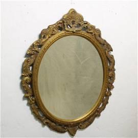 Louis XVI Style Gold Mirror