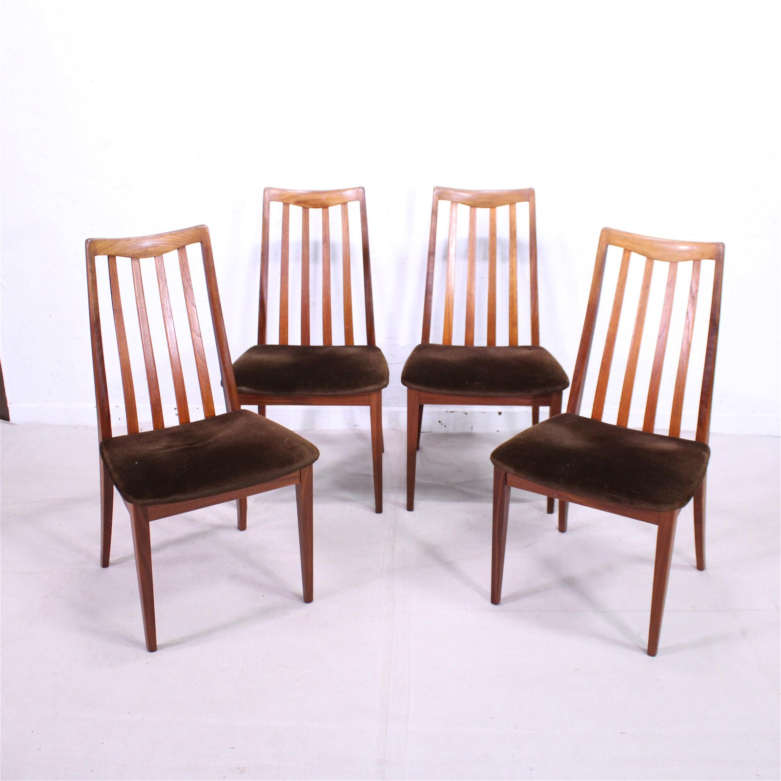 """4 Mid Century Modern """"Fresco"""" Dining Chairs By G-Plan"""
