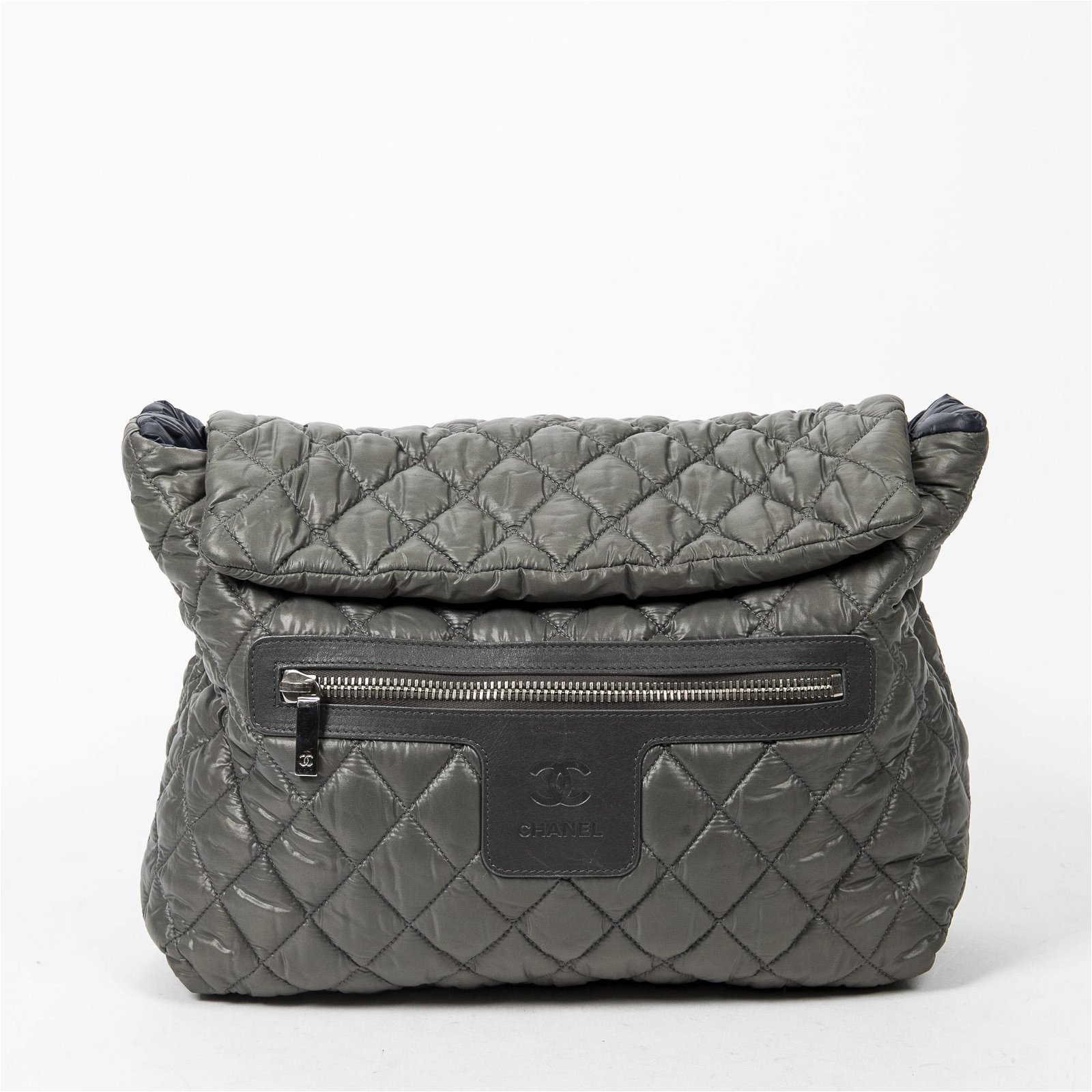Chanel Cocoon Backpack  in Quilted Nylon Canvas
