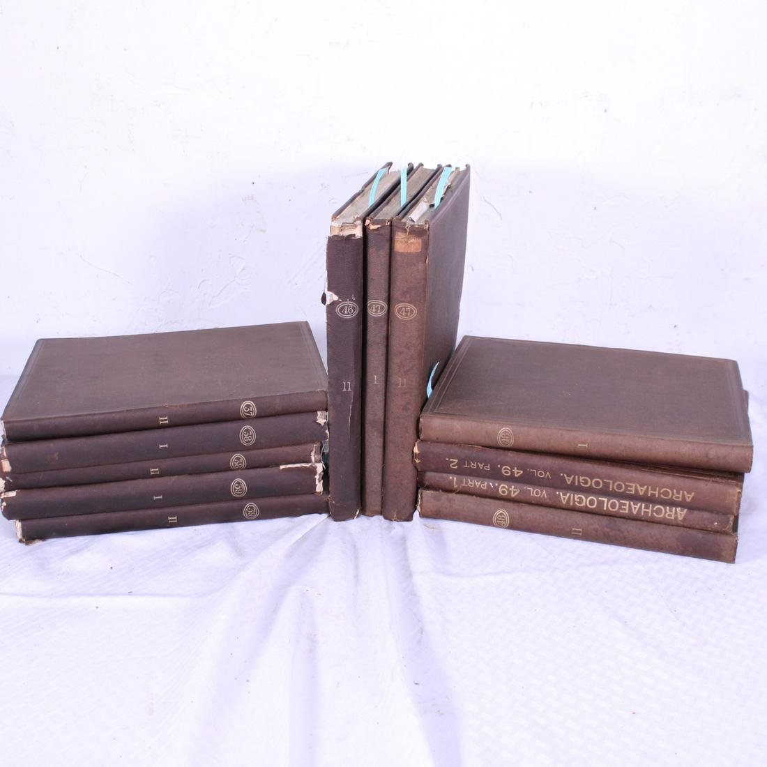 ARCHAEOLOGIA, 1ST EDITION, 12 VOLUMES