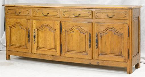 Country French Sideboard / Enflaide in Oak