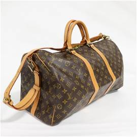 Louis Vuitton Keepall Bandouliere 50 in Monogram Canvas
