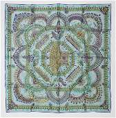 "Hermes Scarf ""Parures Des Maharajas"" by Catherine"