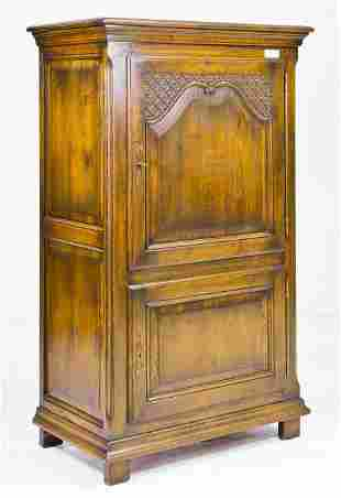 French Oak 2 Door Cupboard