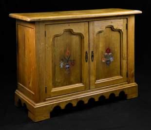 Ranch Oak 2 Door Cabinet / Cupboard