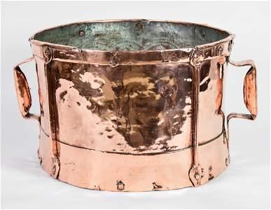 French Copper Ferrat / Wine Bucket / Measure #1