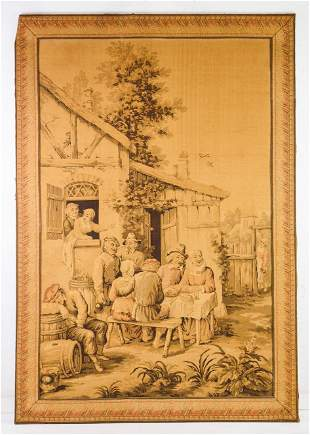 Very Large Early French Tapestry #1