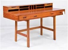 Mid Century Modern Dixie Scova  Flip Top Desk