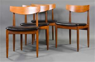4 Mid Century Dining Chairs - K. Larsen For G-Plan