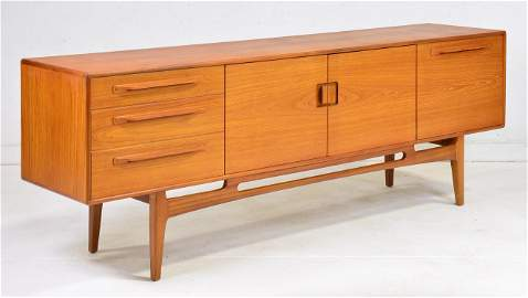 Long Mid Century Modern Sideboard by Beithcraft