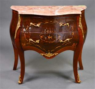 Marble Top 2 Drawer Chest / Commode #5