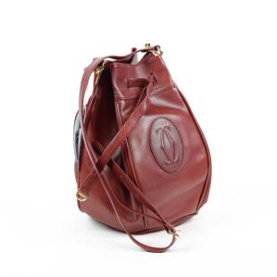 Cartier Must De Cartier Smooth Leather Bag