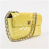 Chanel Quilted Patent Leather Classic Single Flap