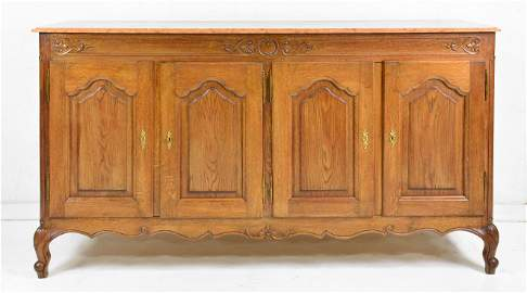 Country French Tall 4 Door Server / Sideboard