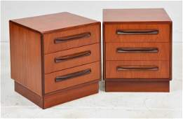 2 Mid Century Fresco Night Stands By G-Plan #1