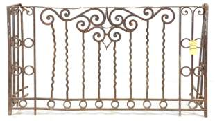 Large French Style Iron Gate / Railing #2