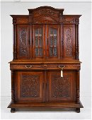 Carved Louis XVI Style Cupboard