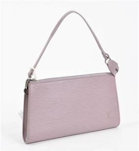 Louis Vuitton Pouch in Violette Leather Epi