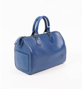 Louis Vuitton Speedy Black Stitching 25 in Epi