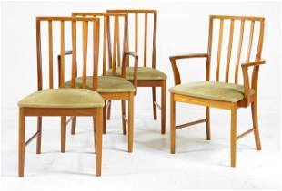 4 Mid Century Modern Dining Chairs - McIntosh