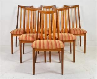 "6 Mid Century Modern ""Fresco"" Chairs - Gplan"