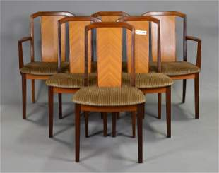 6 High Back Mid Century Dining Chairs - G-Plan