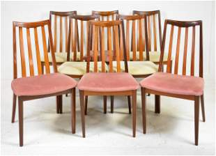 8 High Back Mid Century Dining Chairs - G-Plan