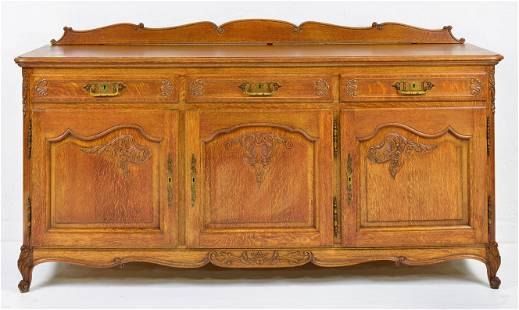 Country French Oak Server / Sideboard