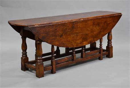 English Oak Wake Table