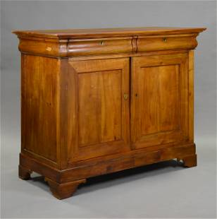 Large Louis Philippe Style 2 Door 2 Drawer Server