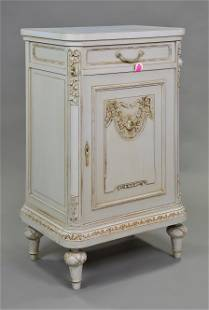 Louis XVI Style Tall Painted Jam Cupboard