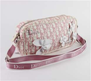 Dior Oblique Trotter Crossbody - Diorissimo Canvas