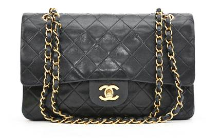 Chanel Classic Double Flap 26 - Leather Quilted Canvas