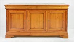 Louis Philippe Style 3 Drawer 3 Door Server