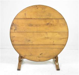 French Tilt Top Wine Table