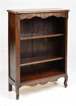 Louis XV Style 3 Tier Bookshelf