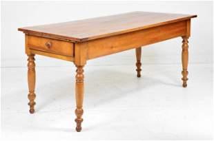 Louis Phillippe Style Farmhouse Table