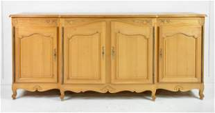Louis XV Style 4 door Sideboard / Server