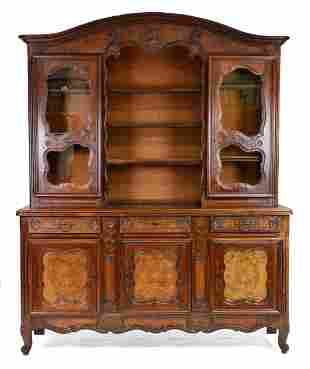 Louis XV style vasselier / cupboard