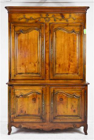 Louis XV Style Step back Cupboard