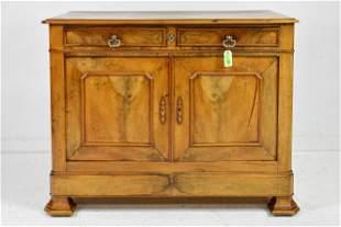 Louis Philippe Style 2 Drawer 2 Door Server #1
