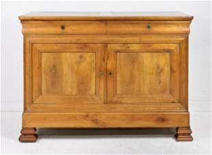 Louis Philippe Style 2 Drawer 2 Door Server #2
