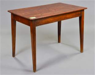 Rustic French Pine & Cherry Table