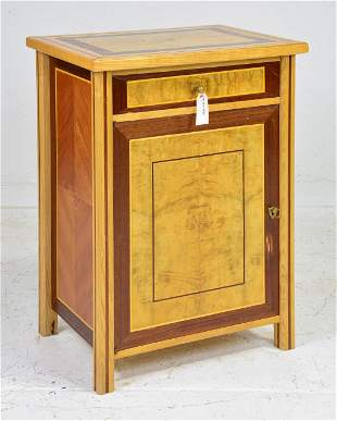 French Jam Cupboard in Ash & Mahogany