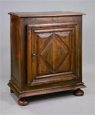Louis XIII Style Walnut Jam Cupboard