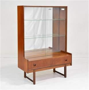 Mid Century Display Cabinet / Bookcase - Turnidge #1
